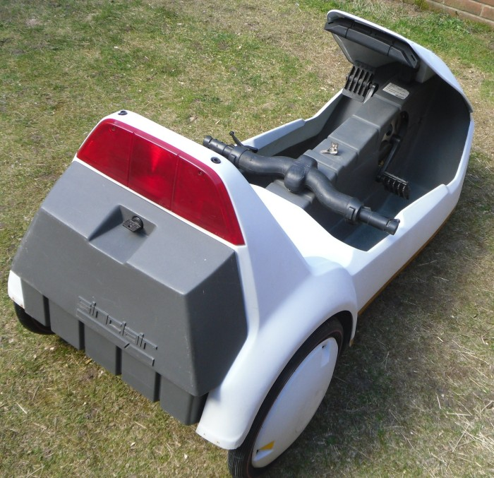 A fully restored Sinclair C5