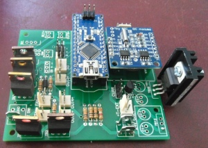 The C5duino PCB V2.0 plus Components