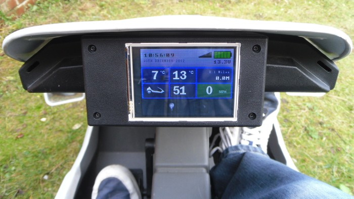 Sinclair C5 With Touchscreen Lcd Display