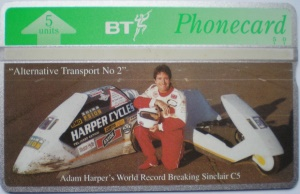 Adam Harper BT Phone Card