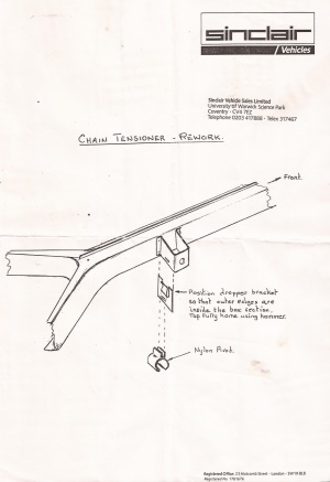Chain Tensioner Rework