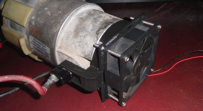 Motor Cooling Fan Connector 4
