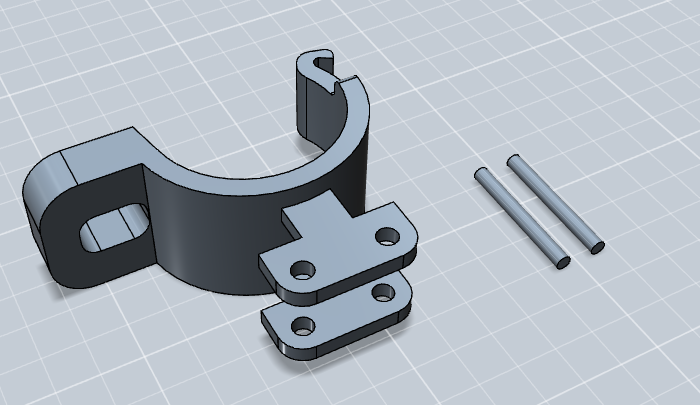 Handlebar Switch Bracket Design