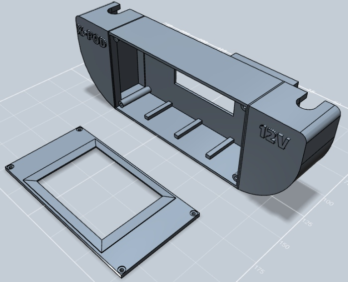 X-POD Case in Design Mode