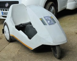 Sinclair C5 purchased for £200 off Ebay