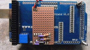 Measuring temperature and Voltage with a custom circuit board